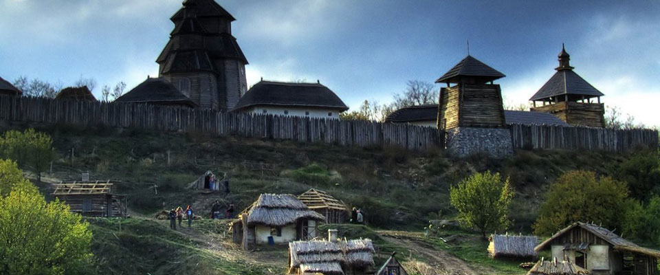 The legendary island Khortytsya, where they lived Cossacks